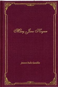 Mary Jane Hayner Book